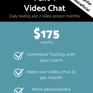 Product #3 - Text and Chat Coaching