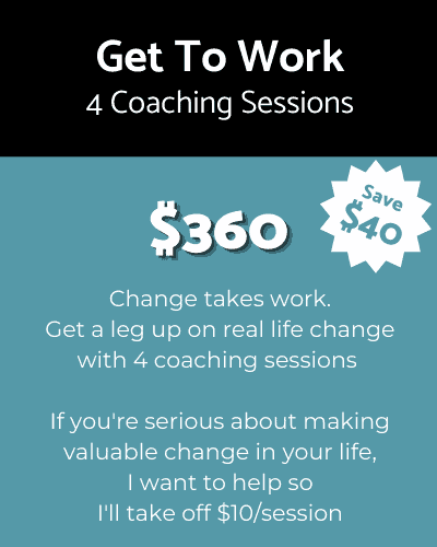 4 Life Coaching Sessions